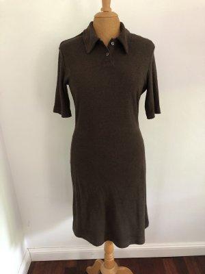 Esprit Sukienka polo ciemnobrązowy