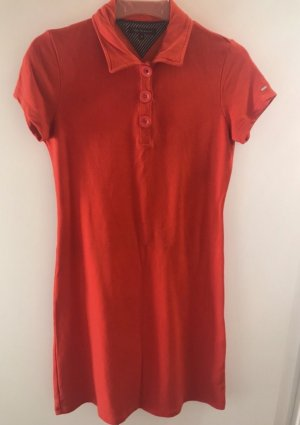 Tommy Hilfiger Polo Dress dark orange-red