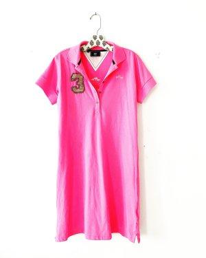 hv society Abito polo rosa