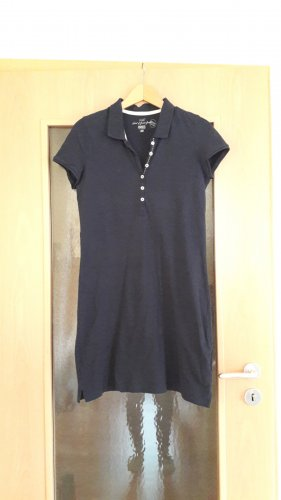 H&M L.O.G.G. Polo Dress dark blue