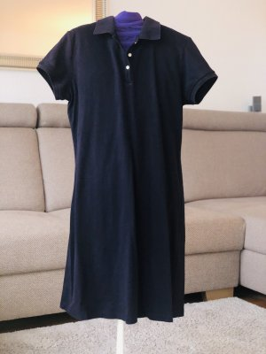 Lands' End Polo Dress dark blue