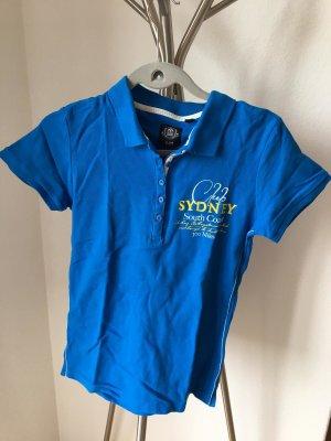 Blue Motion Koszulka polo niebieski neonowy-niebieski