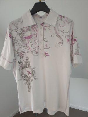 Franca Francani Polo shirt grijs-violet
