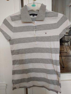 Hilfiger Polo Shirt white-grey