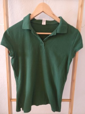 Polo Dress forest green