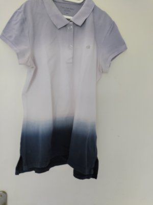 Calvin Klein Polo shirt paars-donkerblauw