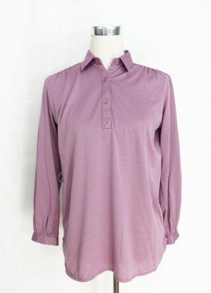 Poloshirt Bluse Gr. M Bluse Rüschenbluse