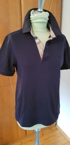Burberry Polo Shirt dark blue