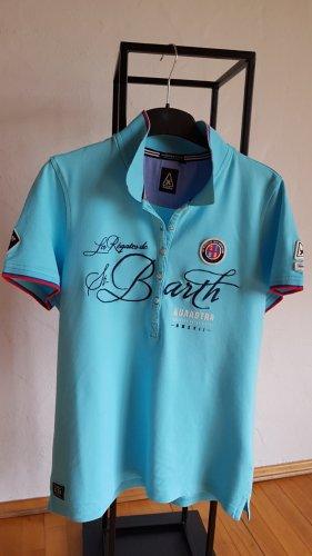 Gaastra Polo Shirt turquoise cotton