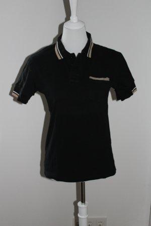 Koszulka polo czarny Bawełna