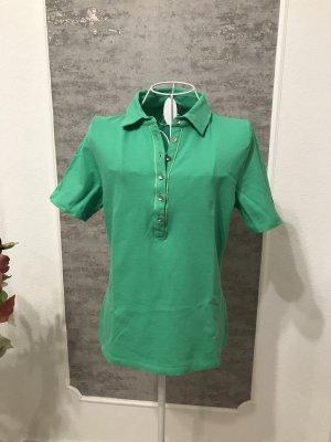 Basler Polo Shirt lime-green cotton