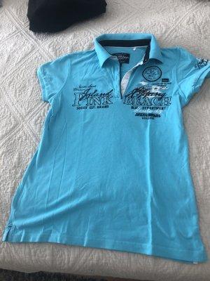 Soccx Polo Shirt turquoise