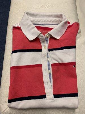 Tommy Hilfiger Polo rosso chiaro-bianco