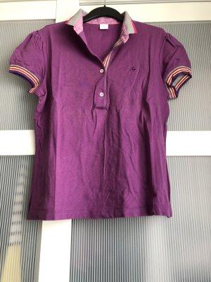 Poloshirt Fary L lila grau