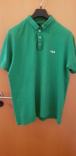 Fila Camiseta tipo polo verde