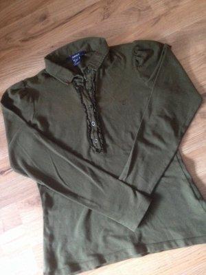 Gant Polo shirt bos Groen-khaki