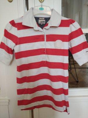 Hilfiger Polo Shirt white-red