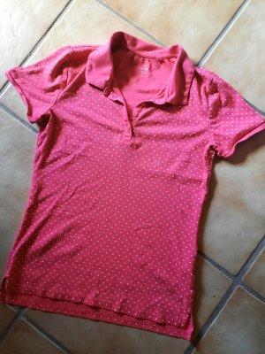 C&A Camiseta tipo polo rojo