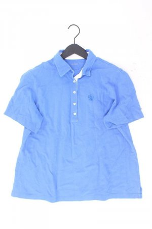 Polo shirt blauw-neon blauw-donkerblauw-azuur