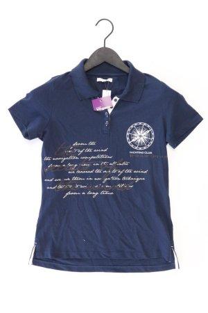 Poloshirt Größe XS neu mit Etikett Kurzarm blau aus Baumwolle