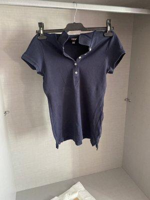 H&M Top Polo bleu-bleu foncé