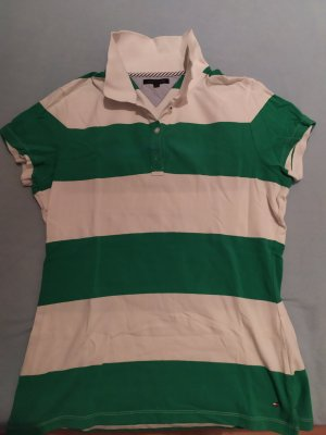 Tommy Hilfiger Polo Shirt white-green