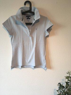 Poloshirt hilfiger hellblau