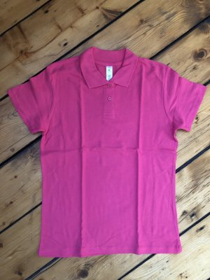 B&C collection Polo rosa