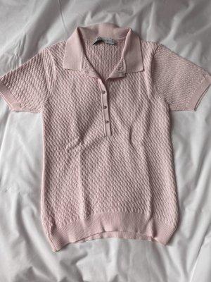 Poloshirt in Nude/ Rosé