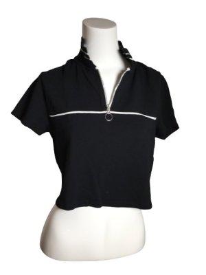 FB Sister Camiseta tipo polo negro