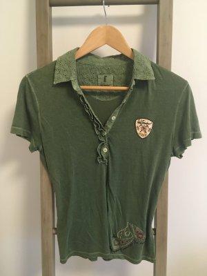 Luis Trenker Polo shirt veelkleurig Katoen