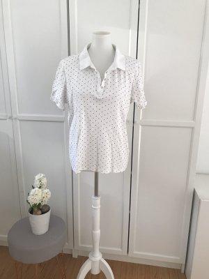 Canda Polo Shirt white-red