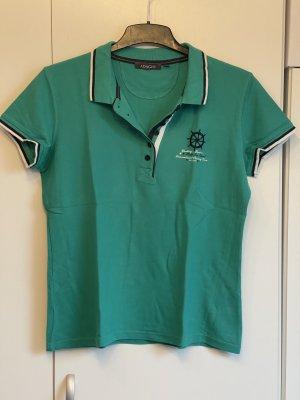 Adagio Polo Shirt green cotton