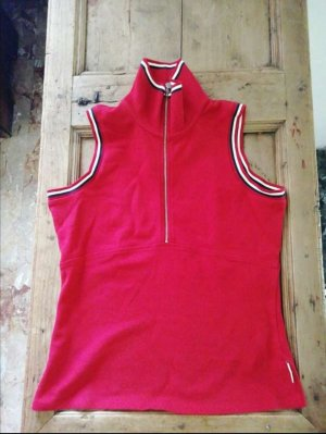 Moncler Top Polo rouge