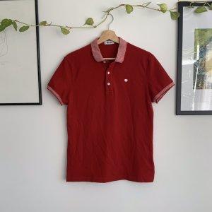 Moschino Polo Shirt white-red