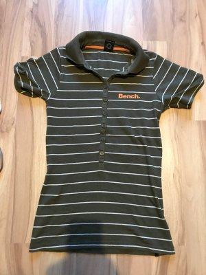 Poloshirt Oberteil gestreift von Bench Shirt Polo Größe XS S 34 36