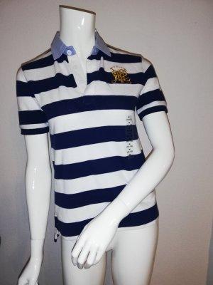 Polo Ralph Lauren Camiseta tipo polo blanco-azul