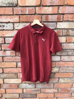 Puma Polo Shirt carmine