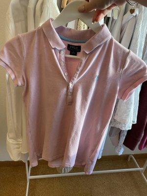 Polo Ralph Lauren Camiseta tipo polo rosa