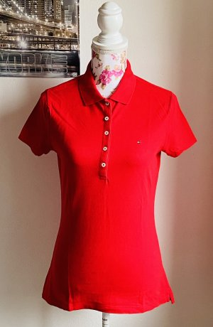 Poloshirt rot -Tommy Hilfiger-