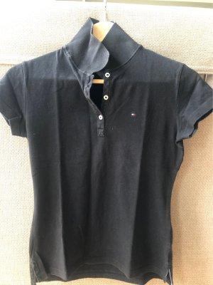 Poloshirt schwarz - Tommy Hilfiger