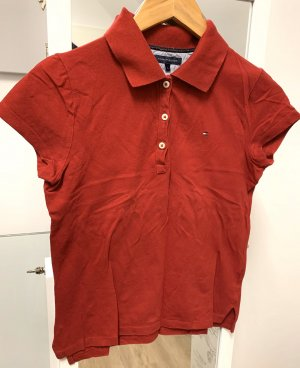 Tommy Hilfiger Polo rouge carmin