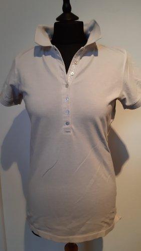 Better Rich Polo Shirt light grey cotton