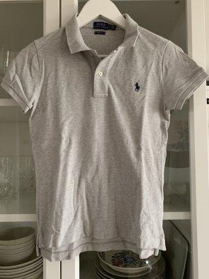 Polo Ralph Lauren Koszulka polo jasnoszary-ciemnoniebieski