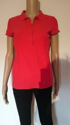 Poloshirt von Tom Tailor Rot / Koralle Gr. 36 / 38 / S Shirt