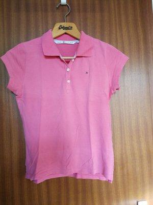 Tommy Hilfiger Polo shirt roze-roze