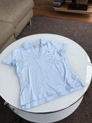 Poloshirt von Tommy Hilfiger hellblau