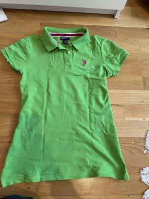 Poloshirt von U.S. Polo Assn. Grün wie neu Größe 36 S
