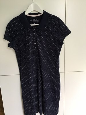 H&M Polo Dress blue-white
