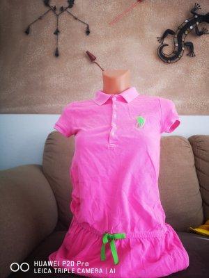 Ralph Lauren Strandjurk roze-neon groen
